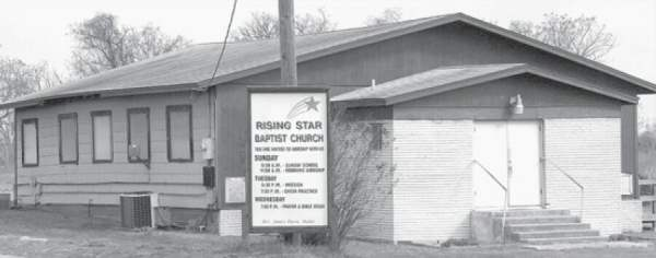 Rising Star Baptist Church, Rockdale, TX