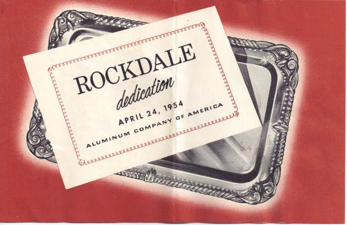 Alcoa Dedication - Rockdale TX - April 24, 1954