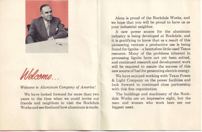 Alcoa Dedication - John D. Harper - April 24, 1954