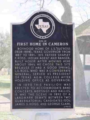 First Home in Cameron, Sull Ross, Cameron, Milam, TX