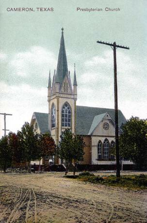 Cameron, TX Presbyterian Church, 1900s