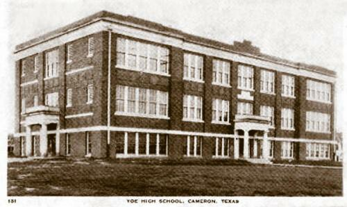 Yoe High School, Cameron, TX 1940s
