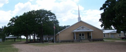 Forest Grove Christian Church, Milam County, TX