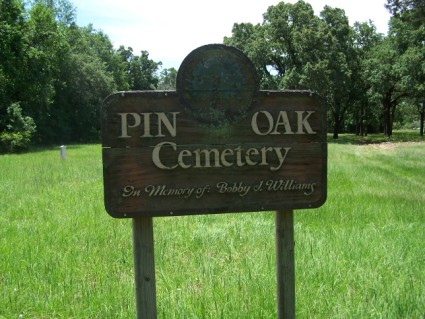 Pin Oak Cemetery, Milam County, TX