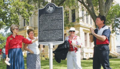 Milam County Courthouse RTHL Dedication Ceremony
