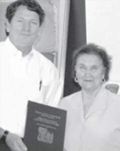 Milam County Judge Frank Summers & Mary Ann Eanes