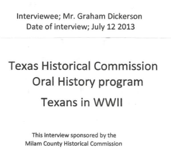 World War II Oral History