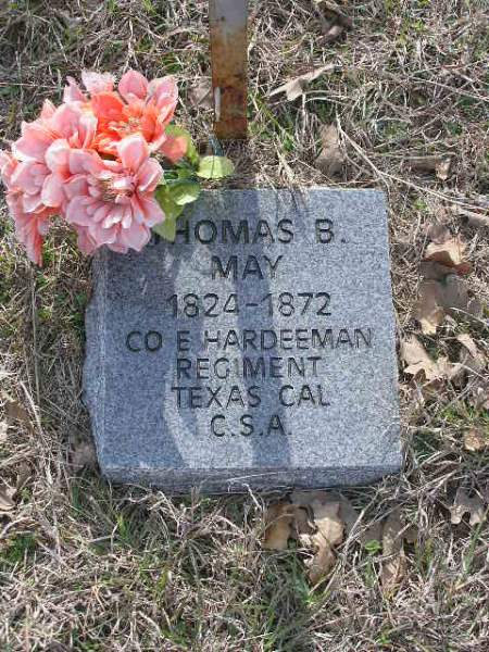 Thomas May - String Prairie Cemetery - Milam County, TX