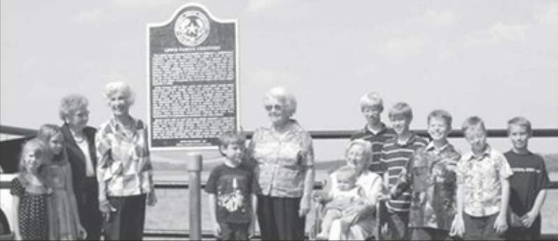 Buckholts' Lewis Family Cemetery receives Historical Marker