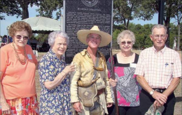 Murray Cemetery - Mary Alice Poe, Joy Kenjura, Randy Billingsley, Valmalene Williand & Walter Bud Williams