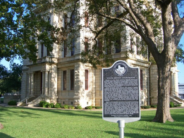 Milam County, TX Courthouse