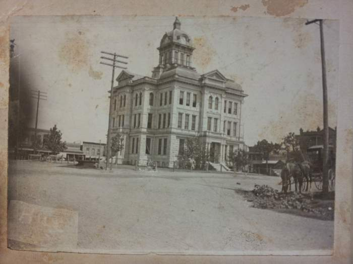 Milam County, TX Courthouse - date unknown