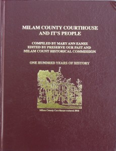 Order your copy of Milam County Courthouse and Its People