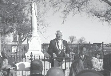 Historical Marker Dedication, Port Sullivan Cemetery, Milam Counry, TX