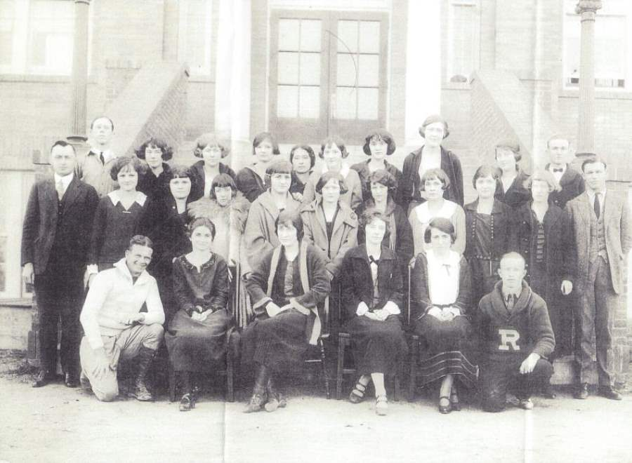 Rockdale, TX High School Class of 1924