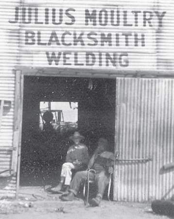 Julius Moultry's Blacksmith & Welding Shop