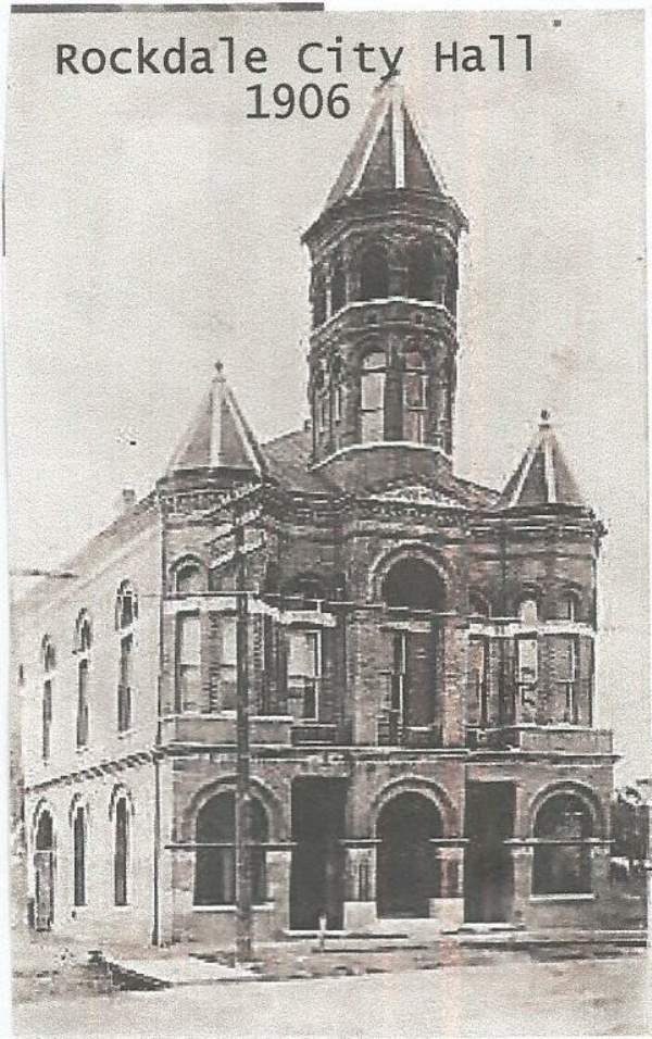 Rockdale TX City Hall 1906