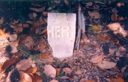Unknown tombstone -- Sand Grove Cemetery