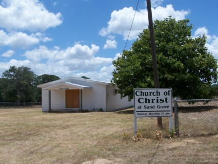 Sand Grove Church of Christ, Milam, TX