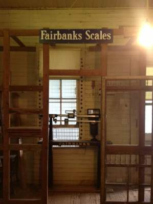 Fairbanks Scale in Sharp General Store
