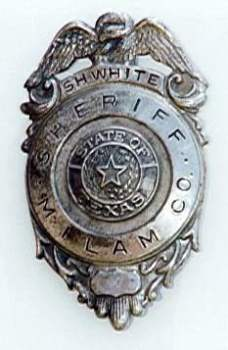 Sheriff Sara H. White badge