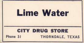 City Drug Company, Thorndale, TX