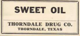 Thorndale Drug Company, Thorndale, TX