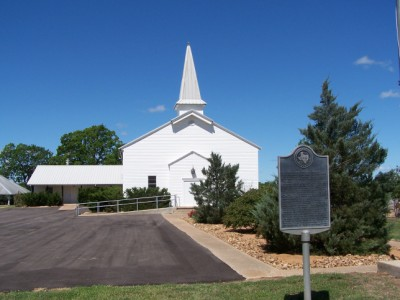 Val Verde Baptist Church, Milam County, TX