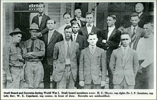 World War  Draft Recruits