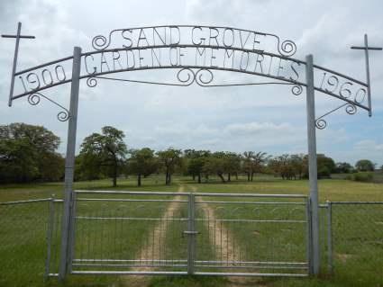 Sand Grove Cemetery - Milam County, TX